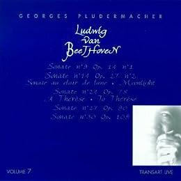 Sonates N 9 Op 14, N 14 Op 27/2, N 24 Op 78, N 27 Op 90, N 30 Op 109