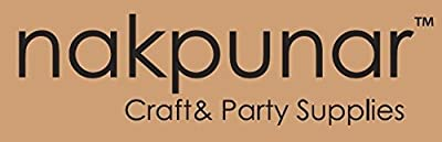 """Nakpunar 3""""x3""""x3"""" Kraft Gift Boxes - Set of 10"""