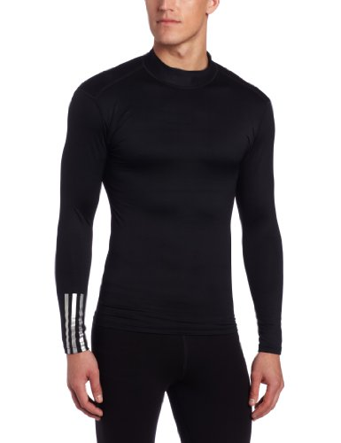 Adidas Golf Men S Climalite Thermal Compression Mock Shirt