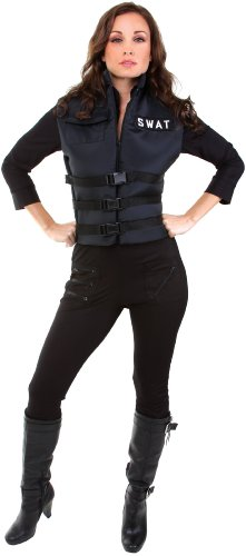 Swat Costume in Black