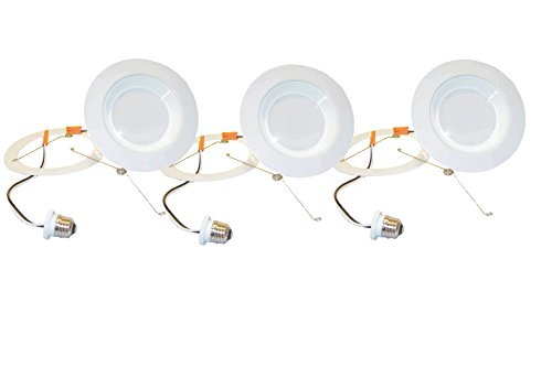 3 Pack Luminus Led Retrofit Light Kit, Warm White 2700K Openings 5 In To 6 In,
