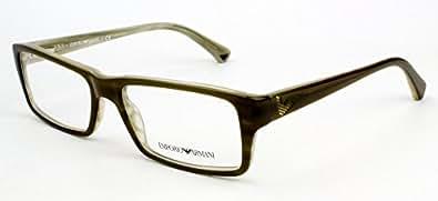 Armani Glasses Frames Boots : Amazon.com: Emporio Armani Eyeglasses EA3003 5057 54 17 ...