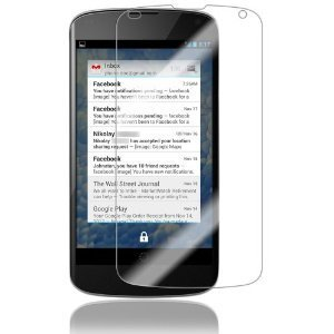 Clear Lcd Guard Screen Protector For Lg Nexus 4 (E960)