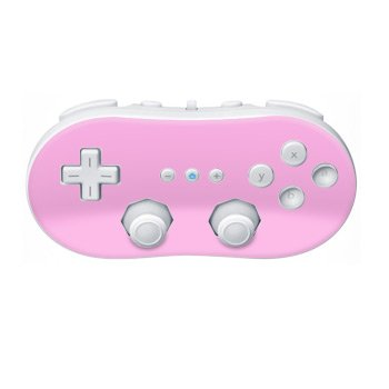 Nintendo Wii Controller Skin- Solid State Pink