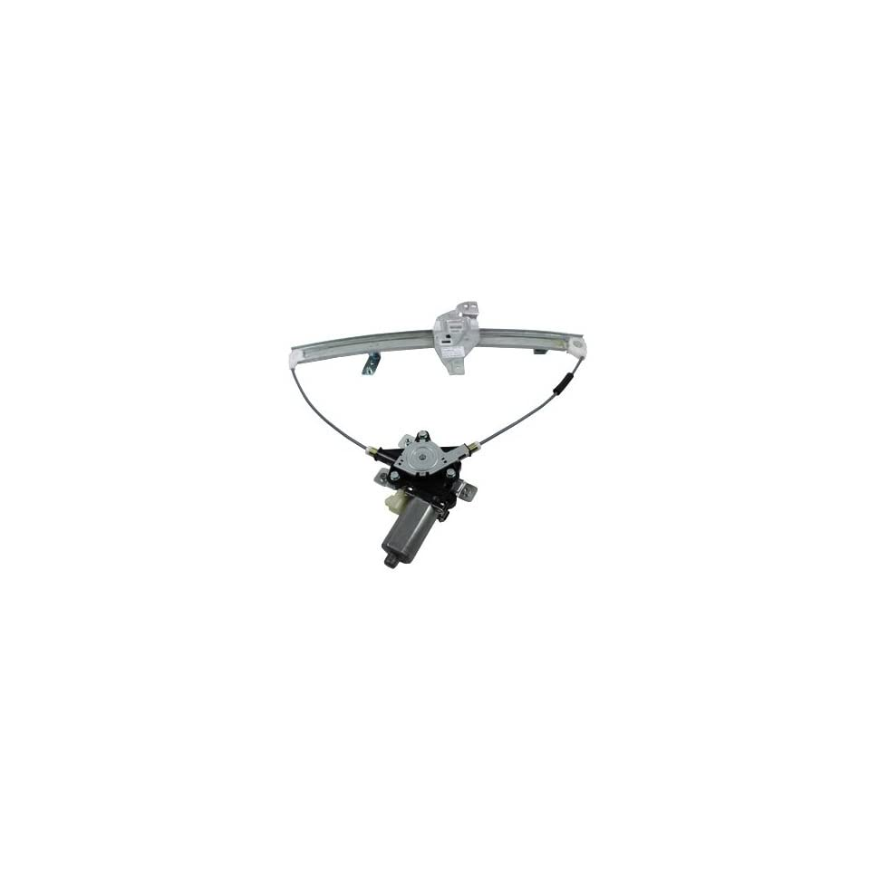 TYC 660163 Chevrolet Impala Front Passenger Side Replacement Power Window Regulator Assembly with Motor