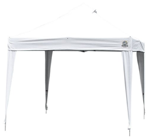 Undercover Canopy Aluminum Instant Shelter - 100 Sq.ft of Shade (10 x 10- Feet, White)