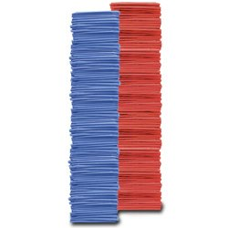 Adult Pinnies 144 Pack Blue Red (PAC) by SSG