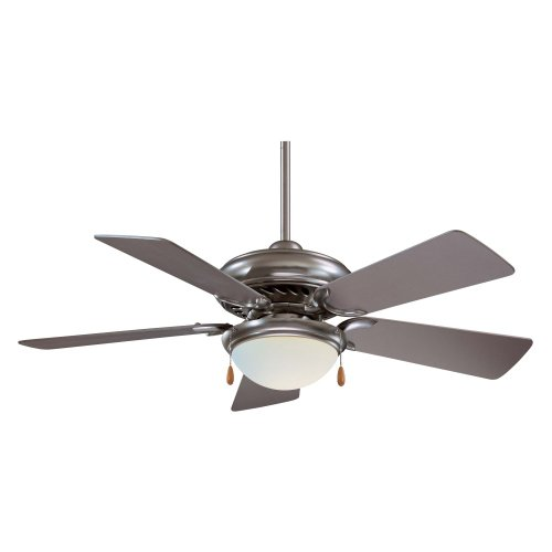 Minka Aire F563-SP Supra 44 in. Indoor Ceiling Fan - Brushed Steel