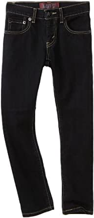 Levi's Boys 8-20 510 Skinny Fit Jean , BLACK STRETCH, 8 Regular