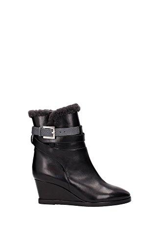 8T497145BF036Q-Fendi-Chaussure-mi-montantes-Femme-Cuir-Noir