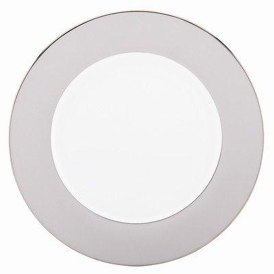 Lenox Marchesa Paisley Bloom Charger, Platinum (Platinum Charger Plates compare prices)