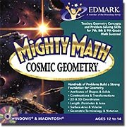 Mighty Math Cosmic Geometry - 1