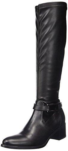 Jb MartinEridane - Stivali classici al ginocchio Donna , Nero (Noir (T Velvet St/V Rio Noir)), 36