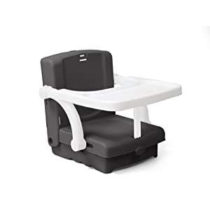 kids kit hi seat booster portable dining seat black imported from uk chair. Black Bedroom Furniture Sets. Home Design Ideas