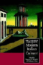 The Cambridge Companion to Modern Italian Culture (Cambridge Companions to Culture)