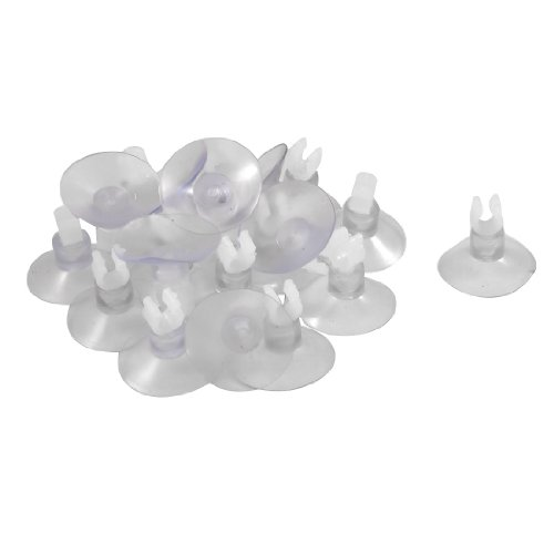 Jardin-Suction-Cup-Airline-Tube-20-Piece-HoldersClipsClamps-for-Aquarium-Clear