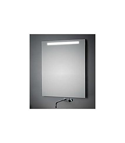 Koh-I-Noor 45757 Specchio Illuminazione Superiore, Grigio