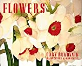 Flowers: Gary Bukovnik Watercolors and Monotypes (0810931052) by Judith Gordon