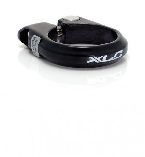 Xlc Alloy Seatpost Clamp W/ Bolt, 28.6Mm, Black