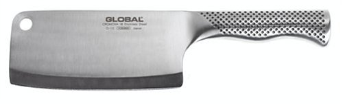 Global G-12 - 6 1/2 inch, 16cm Meat Cleaver via Amazon