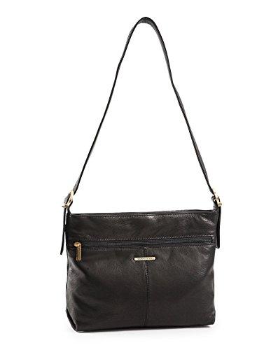 stone-mountain-hampton-collection-top-zip-two-compartment-hobo-black