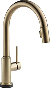 delta faucet 9159t cz dst trinsic single handle pull down kitchen
