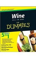 Wine All-in-One For Dummies by McCarthy, Mary Ewing-Mulligan, Maryann Egan