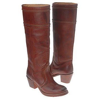 FRYE Women's Jane 14L Boot,Redwood Pebbled Full Grain,7.5 M US
