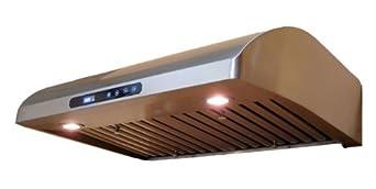 "Eureka-euro 30"" Stainless steel Baffle Filter Under-cabinet Range Hood"