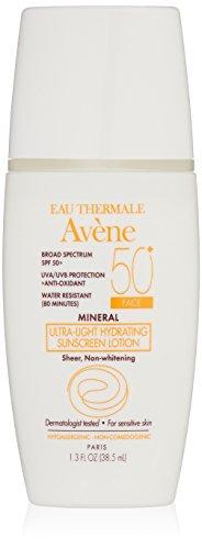 Eau Thermale Avène Mineral Ultra-Light SPF 50 Plus Hydrating Sunscreen Lotion, 1.3 fl. oz.