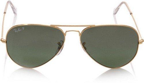 Gafas de sol Ray-Ban RB3025 estilo aviador polarizados,Marco de Oro y  Cristal Marrón Degradado ... 81030d7cea