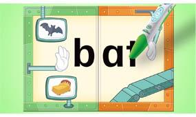 400+ interactive responses and 5 spelling, rhyming and singing games reinforce word-building fun
