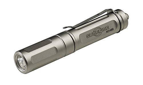 SureFire Titan Plus Ultra-Compact Variable-Output LED Keychain Light, Silver matte (Omega Chain Stainless Steel compare prices)