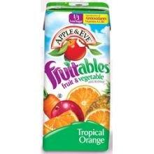 Fruitables Tropical Orange Juice, 200 Milli Liter - 8 Per Pack -- 5 Packs Per Case. front-739291