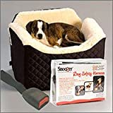 Snoozer Pet Safety System, Small Safety Harness with Medium Lookout, Black