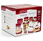 Rubbermaid 50-Piece Easy Find Lid Foo...
