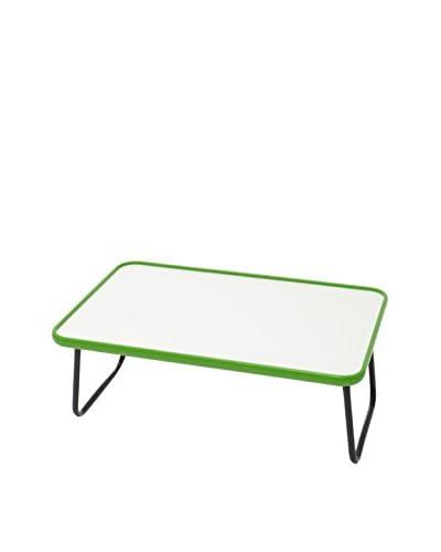 Valsecchi Home srl Bandeja Blanco/Verde