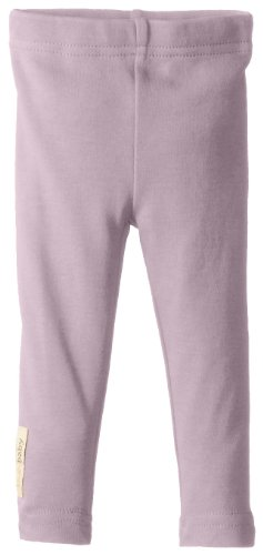 L'Ovedbaby Baby-Girls Newborn Organic Leggings, Lavender, 18/24 Months back-852886