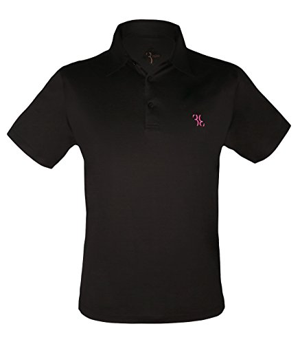 billionaire-couture-new-mens-black-cotton-polo-t-shirt-with-logo-size-m