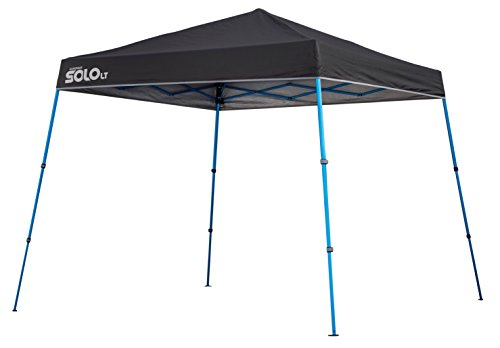 Quik Shade Solo LT 90 Aluminum Compact Instant Canopy, Charcoal
