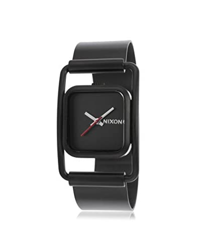 Nixon Women Dynasty A238001-00 Black Ion Plated Stainless Steel Watch