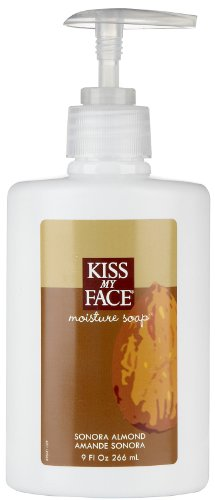 Kiss My Face Moisture Soap Almond - 9 Fl Oz