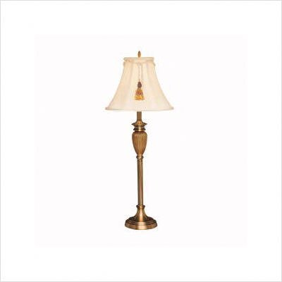 Indoor Buffet Portable Antique Bronze Table Lamp [Set of 2]