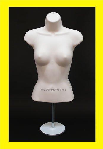 Torso Female (Waist Long) W/Base Mannequin Flesh