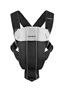 BABYBJORN Baby Carrier Organic Original, Black