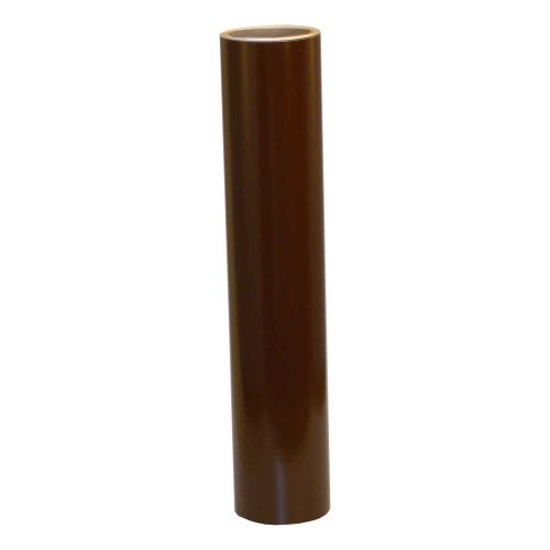 Vinyl Oasis Craft & Hobby Vinyl - Gloss Chocolate Brown W/ Permanent Adhesive - 12 In. X 10 Ft. Roll front-589803