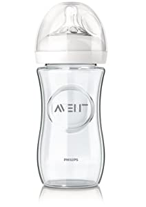 Philips-Avent Biberon Natural Verre - 240 ml