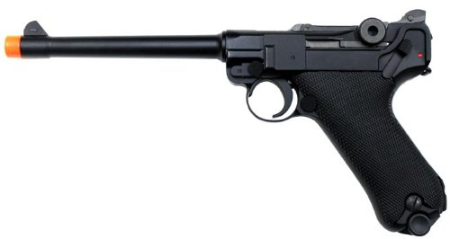 WE P08 Luger Gas Airsoft Gun Blowback M