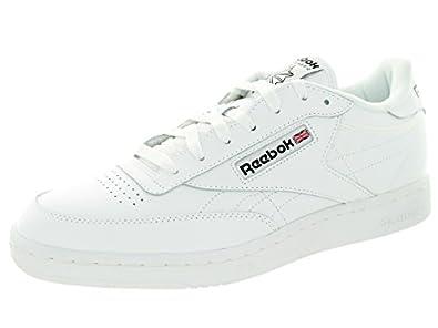 reebok club c mens tennis shoe shoes