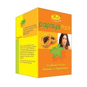 Nature's Papaya Pack Treatment Pack For Blemishes and Pigmentation 60 g